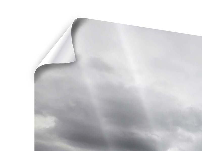 Panorama Poster 3-teilig Vulkan