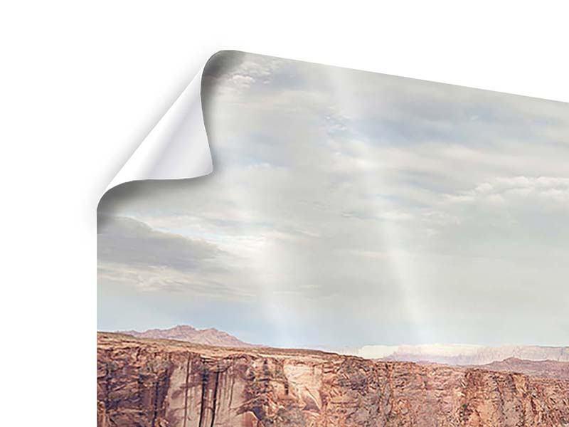Panorama Poster 3-teilig Horseshoe Bend