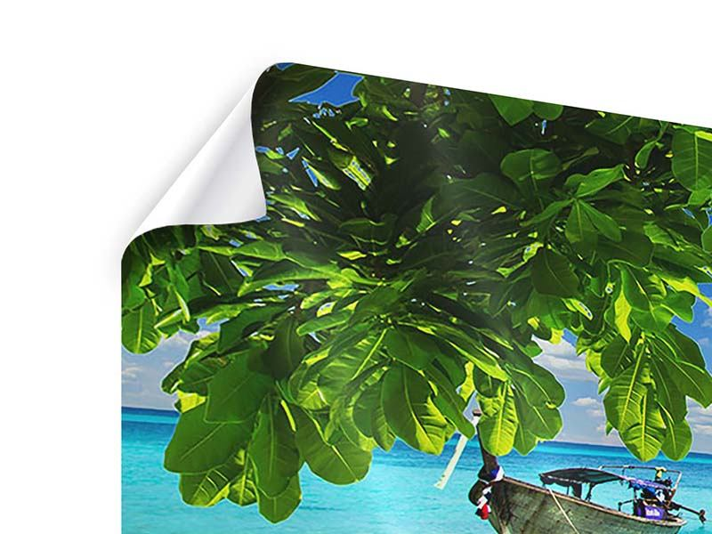 Panorama Poster 3-teilig Ein Blick auf das Meer