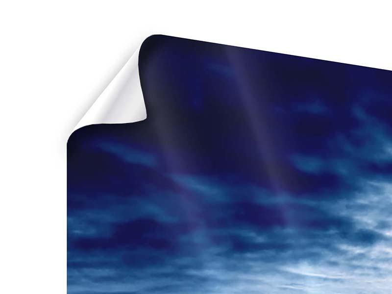Panorama Poster 3-teilig Mystischer Himmel