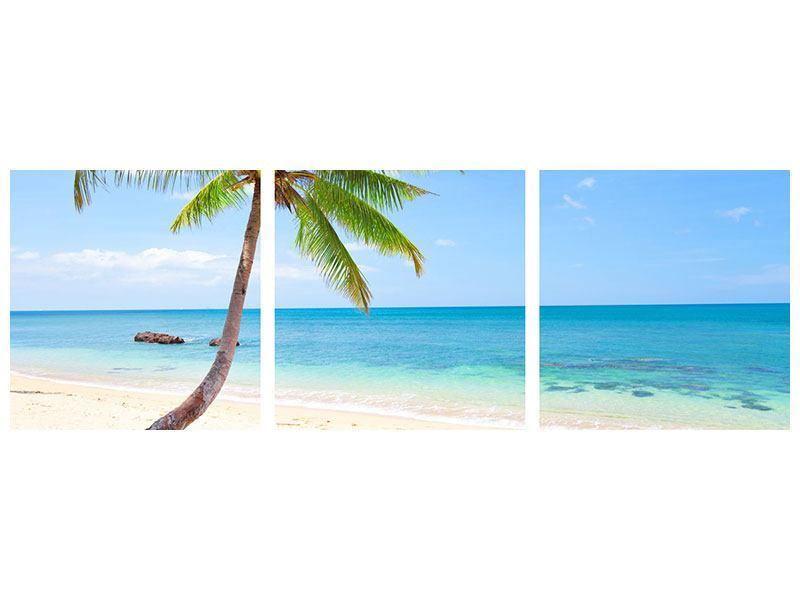 Panorama Poster 3-teilig Die eigene Insel