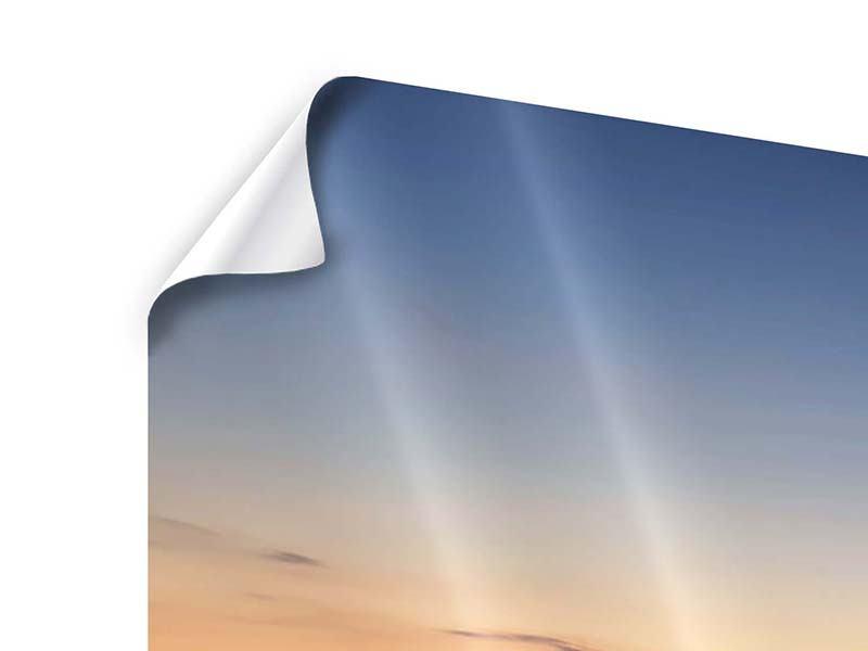 Panorama Poster 3-teilig Der Steg