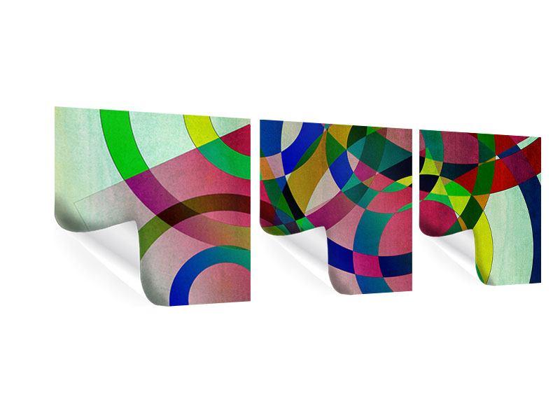 Panorama Poster 3-teilig Wandkunst