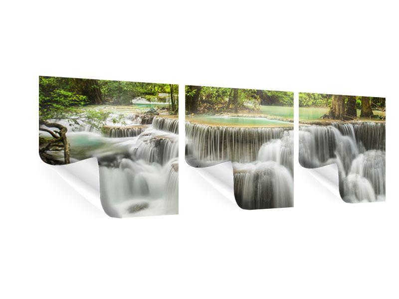 Panorama Poster 3-teilig Erawan