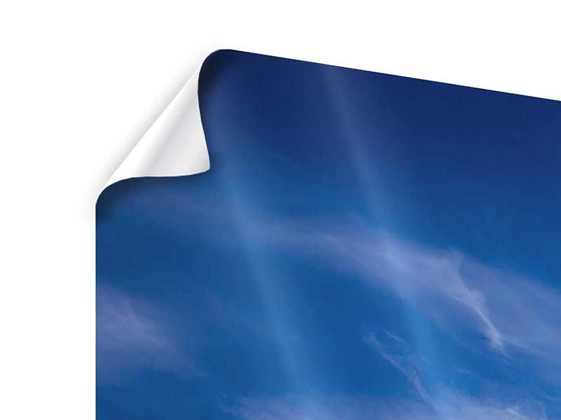 Panorama Poster 3-teilig Schleierwolken