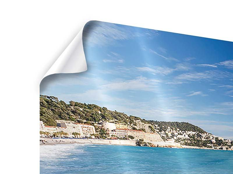 Panorama Poster 3-teilig Cote D`Azur