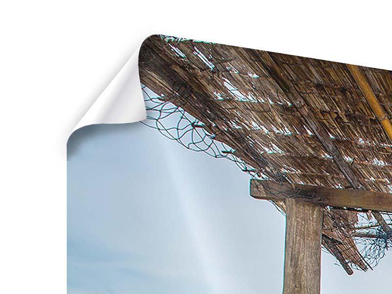 Panorama Poster 3-teilig Hängematte