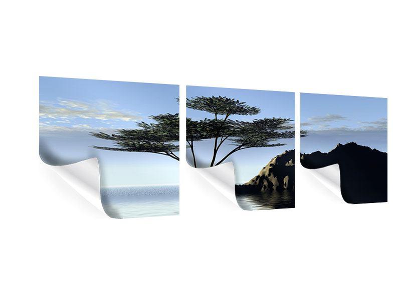 Panorama Poster 3-teilig Naturfaszination