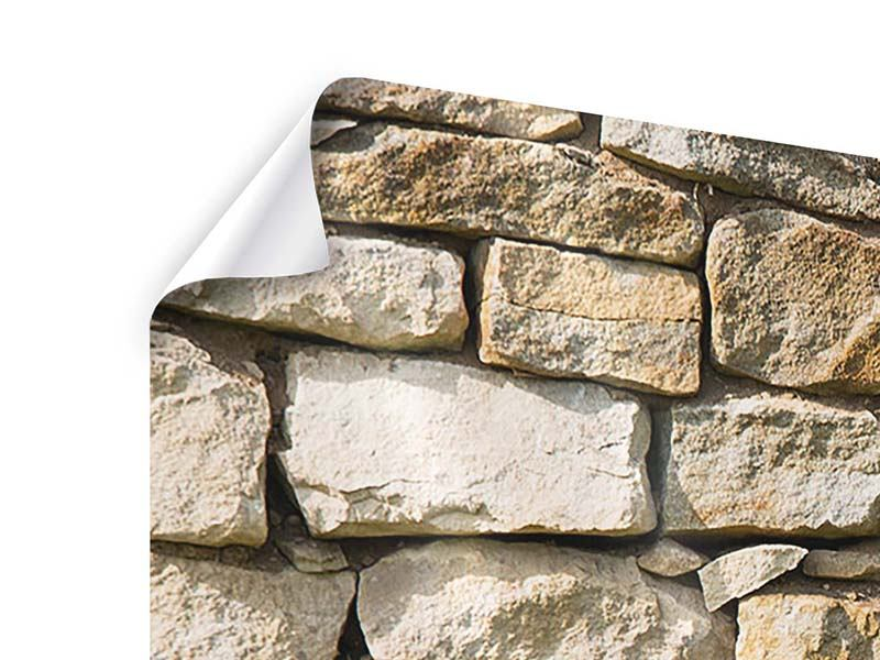 Panorama Poster 3-teilig Natursteine