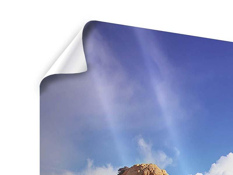 Panorama Poster 3-teilig Strandgedanken