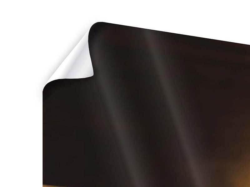 Panorama Poster 3-teilig Kaffeepause