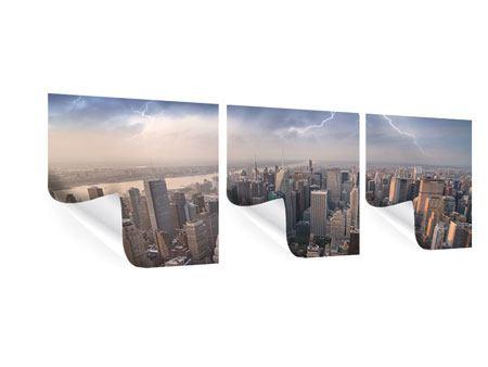 Panorama Poster 3-teilig Manhattan