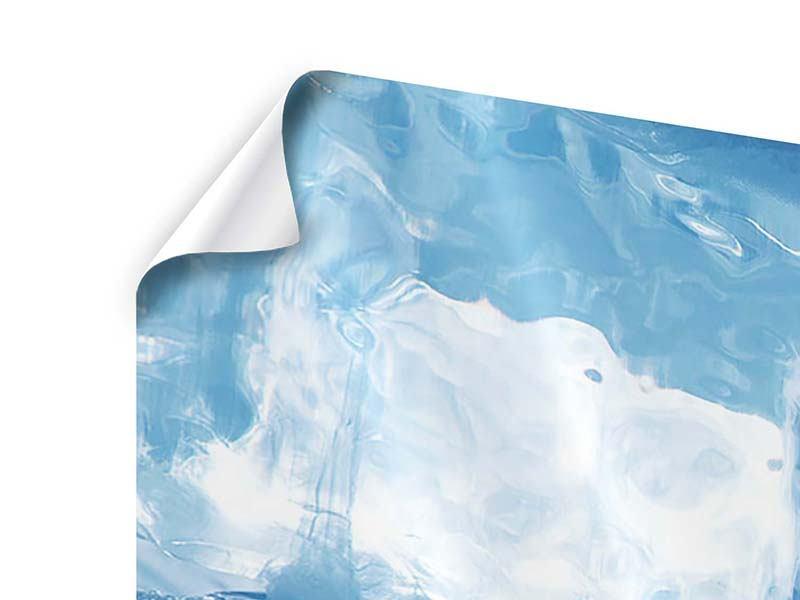 Panorama Poster 3-teilig Baikalsee-Eis
