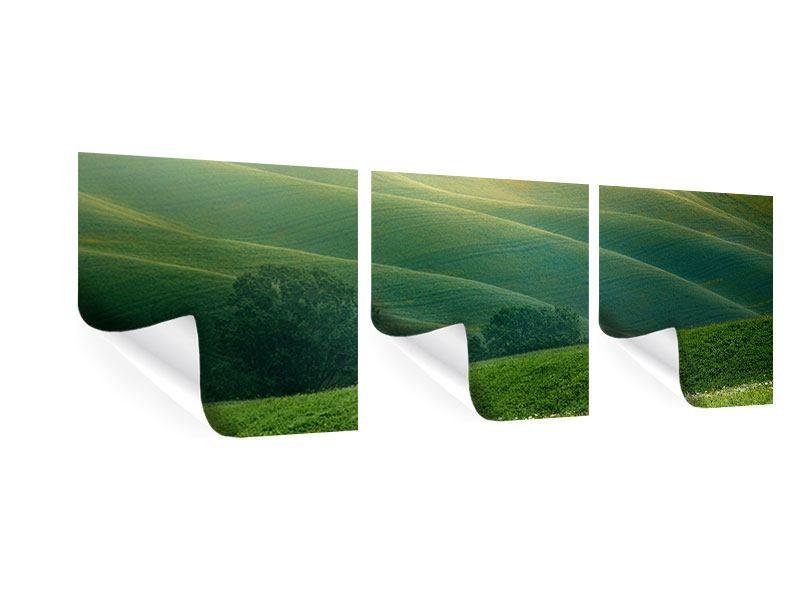 Panorama Poster 3-teilig Toskana