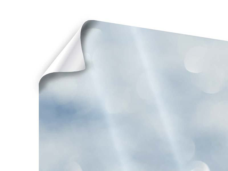 Panorama Poster 3-teilig Kristallglanz