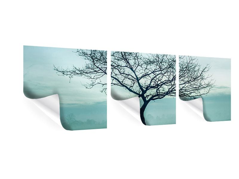 Panoramic 3 Piece Poster The Magic Tree