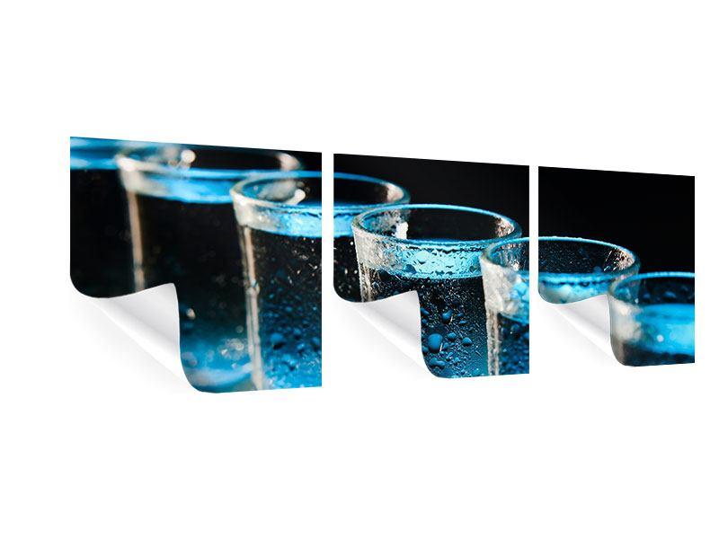 Panorama Poster 3-teilig Wodka Pur