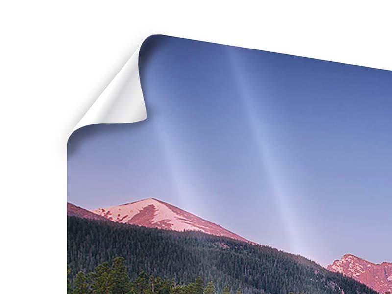 Poster 3-teilig modern Sprague Lake-Rocky Mountains