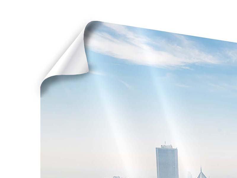 Poster 3-teilig modern Wolkenkratzer Chicago