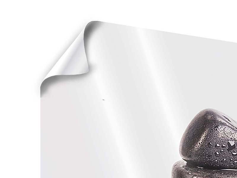 Poster 3-teilig modern Die Kraft der Steine
