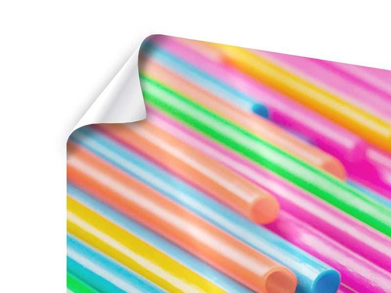 Poster 3-teilig modern Pop Art