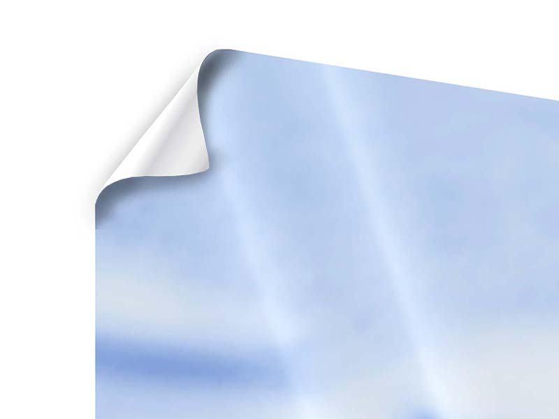 Poster 3-teilig modern Eiswürfel