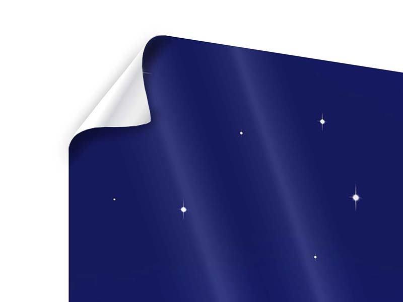 Poster 3-teilig modern Der Nachthimmel