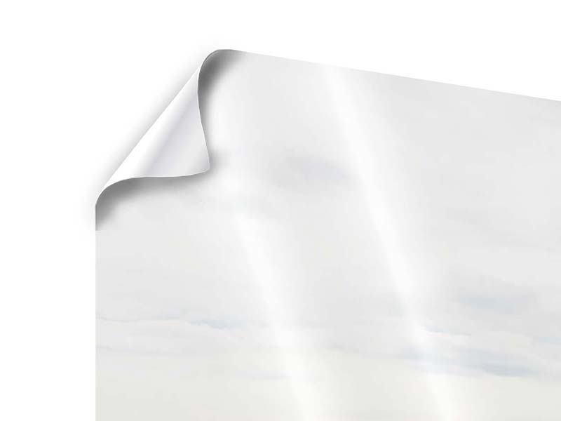 Poster 3-teilig modern Leise Wellen