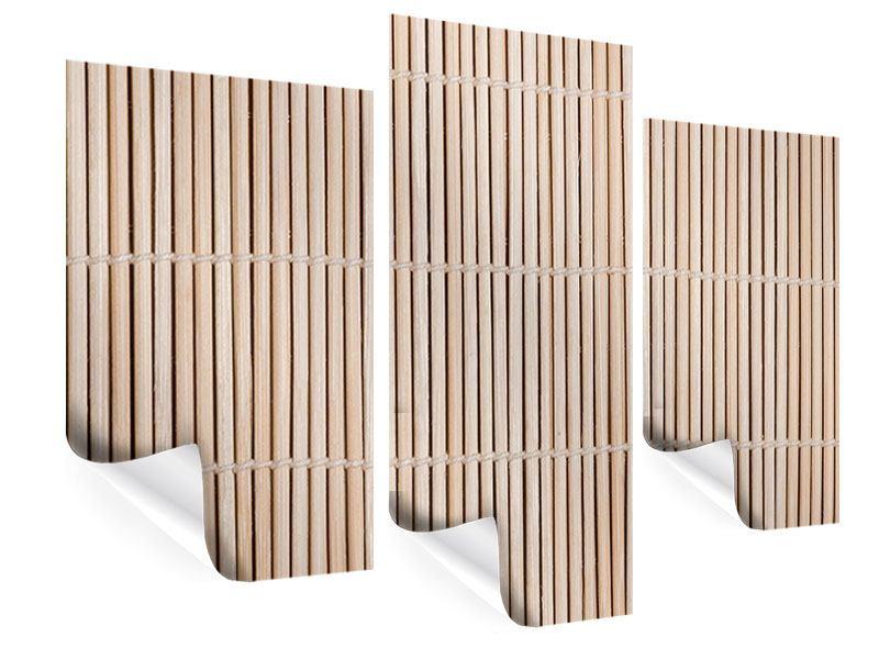 Poster 3-teilig modern Lucky Bamboo