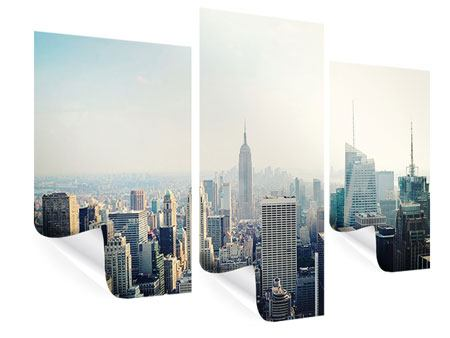 Poster 3-teilig modern NYC