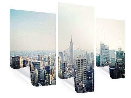 Poster 3-teilig modern NYC