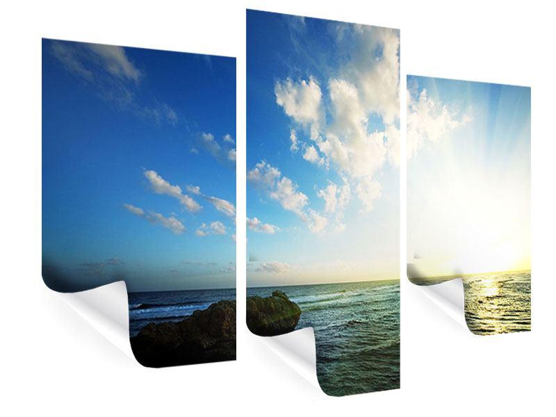 Poster 3-teilig modern Die See