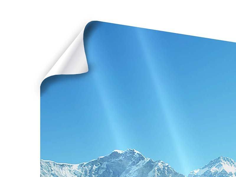 Poster 3-teilig modern Das Himalaya-Gebirge