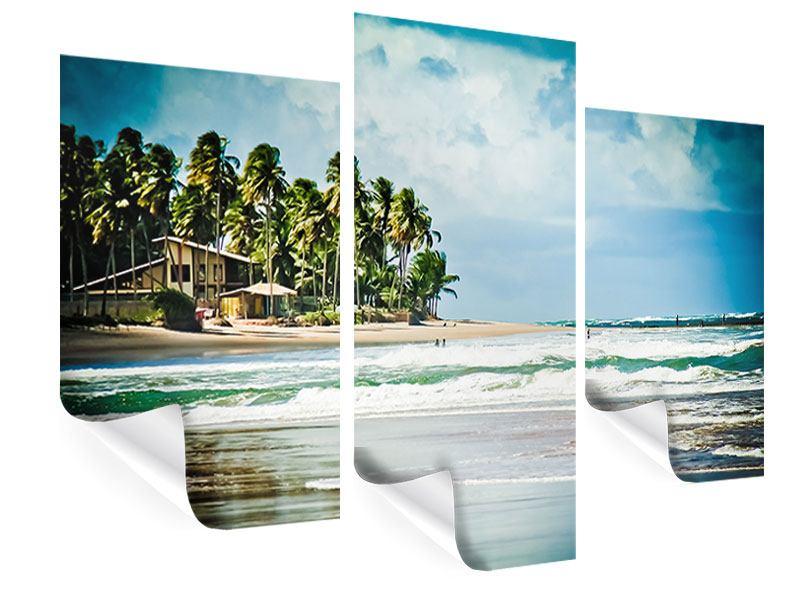 Poster 3-teilig modern The Beach