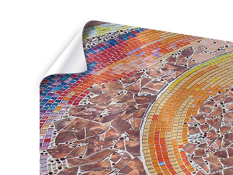 Poster 3-teilig modern Mosaik