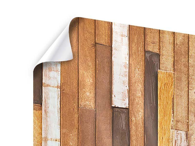 Poster 3-teilig modern Designholz