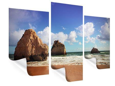 Poster 3-teilig modern Strandgedanken
