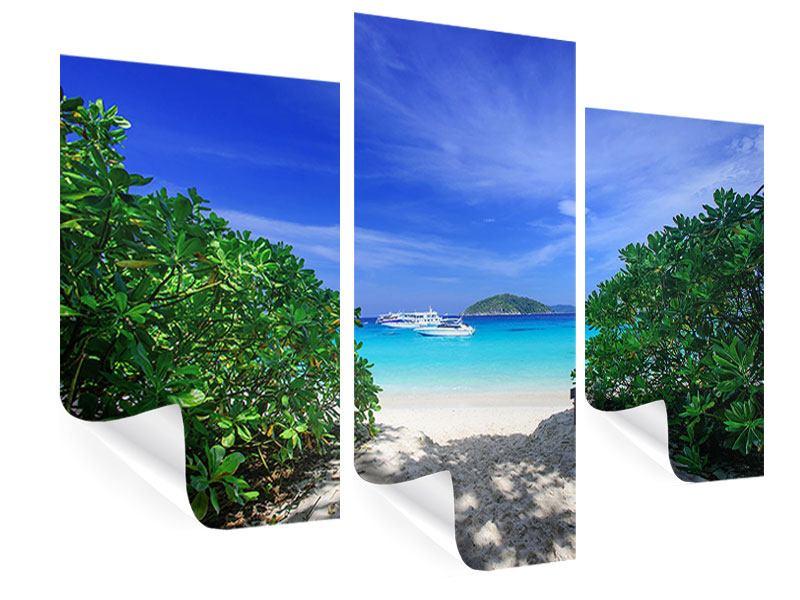 Poster 3-teilig modern Similan-Inseln