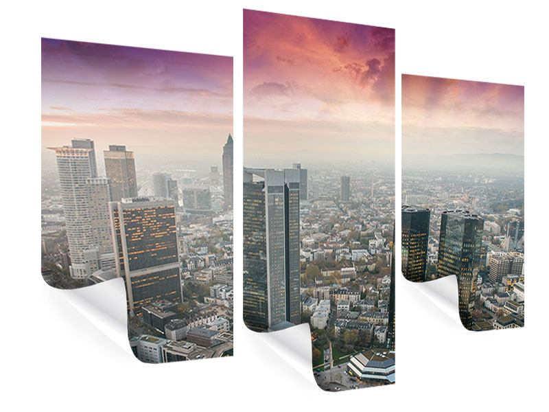 Poster 3-teilig modern Skyline Penthouse in New York