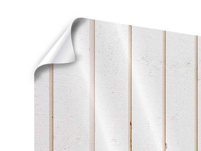 Poster 4-teilig modern Mediterranes Holz