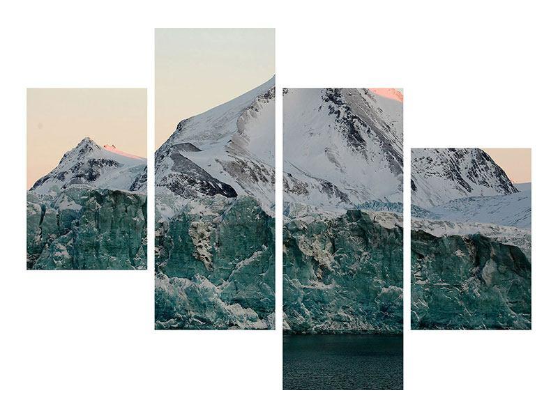 Poster 4-teilig modern Die Antarktis