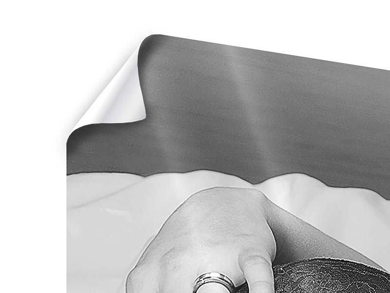 Poster 4-teilig modern Dessous-Schönheit