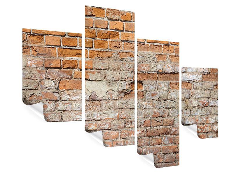 Poster 4-teilig modern Alte Klagemauer