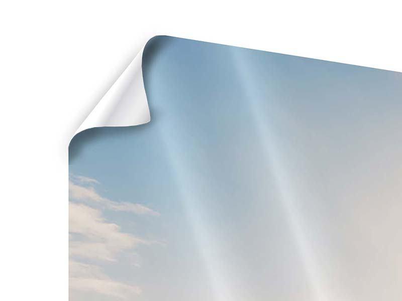 Poster 4-teilig modern Eislandschaft