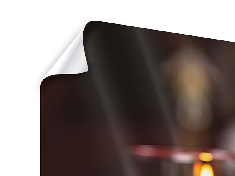 Poster 4-teilig modern Köstliches Geflügel