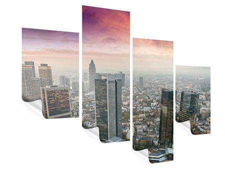 Poster 4-teilig modern Skyline Penthouse in New York