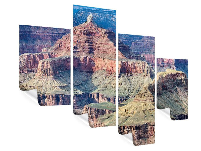 Poster 4-teilig modern Gran Canyon