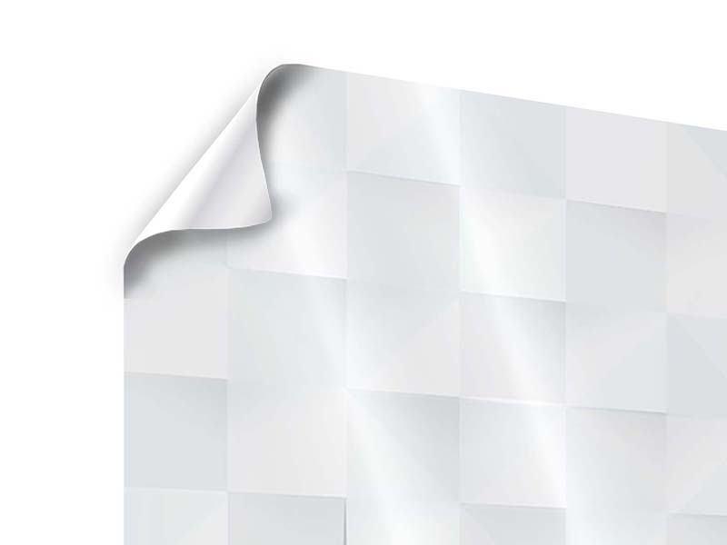 Poster 4-teilig 3D-Schachbrett