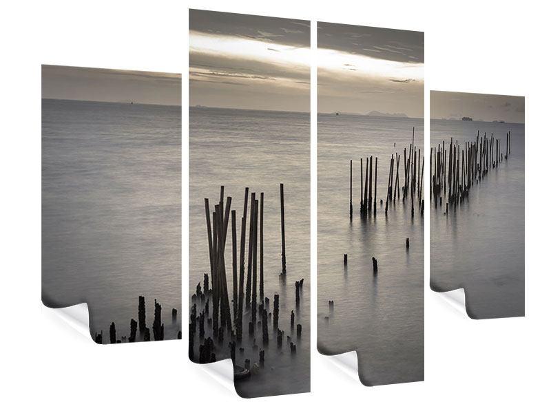 Poster 4-teilig Das Meer und die Träne