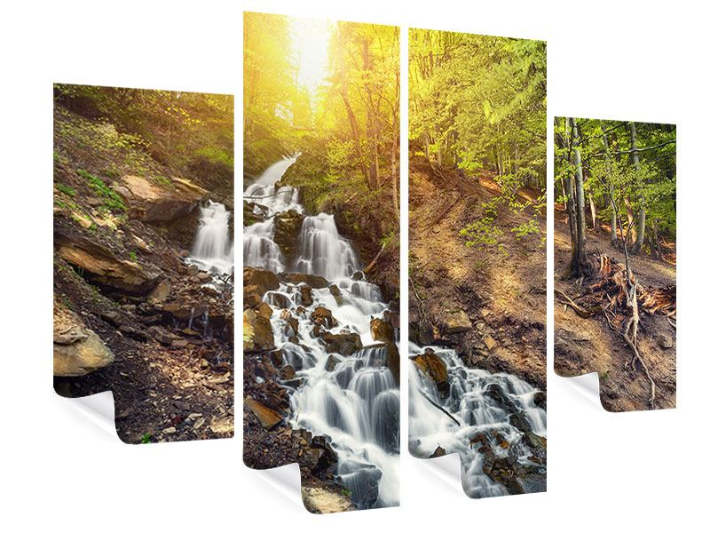 Poster 4-teilig Naturschönheit